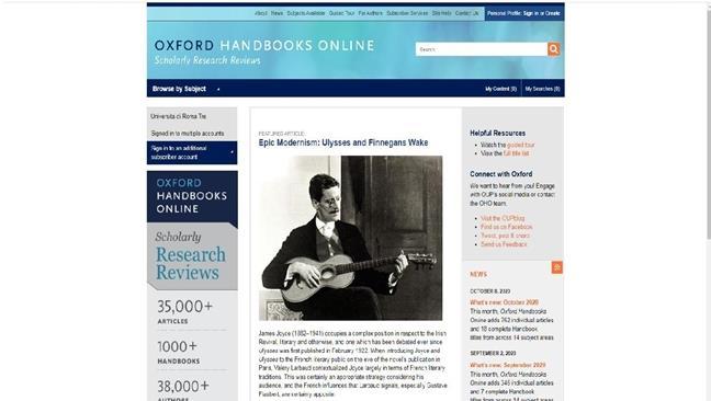 Ebook Oxford Handbook Online