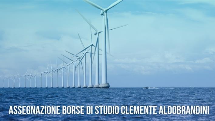 Ingegneria delle Tecnologie per il Mare: assegnazione Borse di Studio Clemente Aldobrandini.