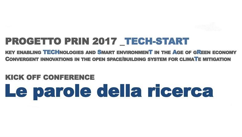 Progetto PRIN 2017 _TECH-START