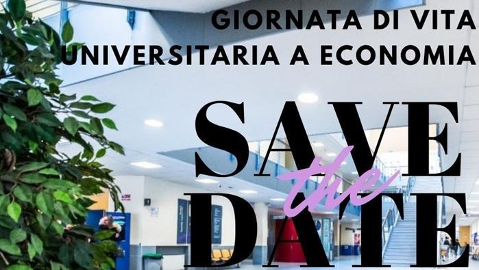 Giornata di vita universitaria a Economia 14 maggio ore 11:30