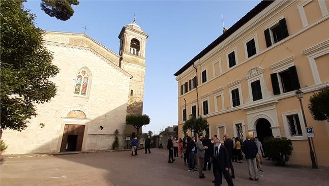 Restauro di Palazzo Santacroce a San Gemini