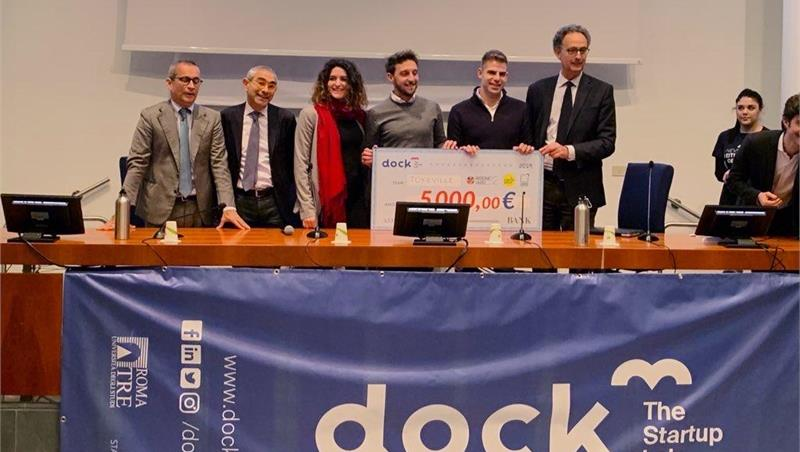 Dock3 Investor, è Tokeville la migliore startup di successo di Roma Tre