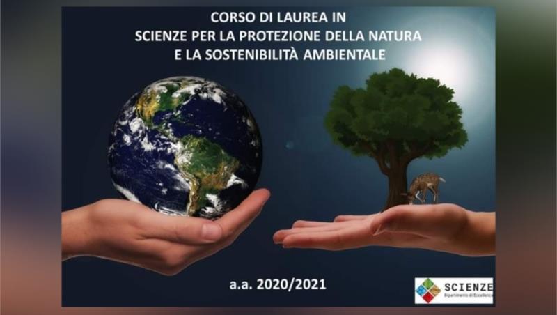 Lezione inaugurale per il nuovo Corso di Laurea in Scienze per la Protezione della Natura e la Sostenibilità Ambientale!
