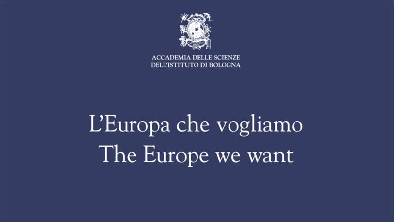 """Concorso di Idee """"L'Europa che Vogliamo"""""""