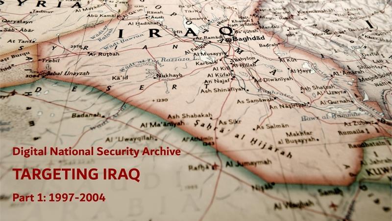 Nuova collezione del Digital National Security Archive - Biblioteca di Studi politici