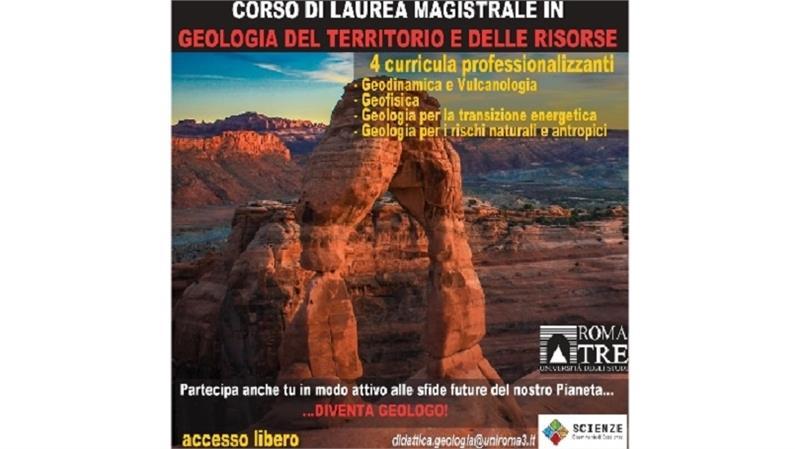 Il corso di laurea magistrale in Geologia del Territorio e delle Risorse. Presentazione video