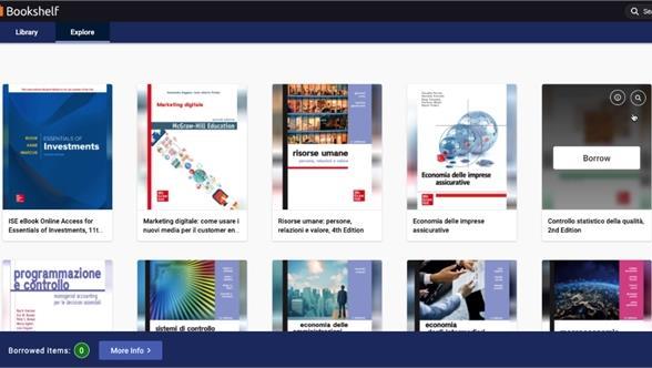 Attivato l'accesso a una collezione elettronica di 14 libri di testo McGraw-Hill