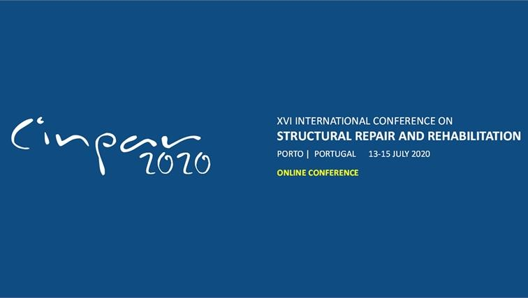 CINPAR 2020 – XVI Congresso Internacional sobre Patologia e Reabilitação de Estruturas