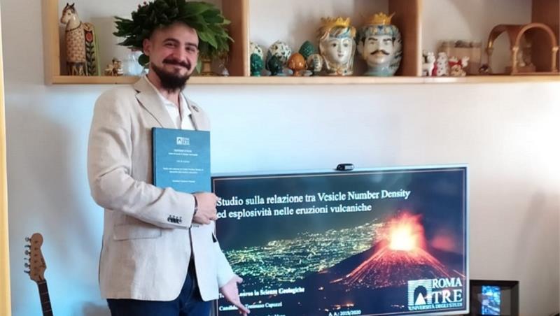 Laurea telematica: Tommaso Capuzzi, neodottore del corso di laurea in Scienze Geologiche