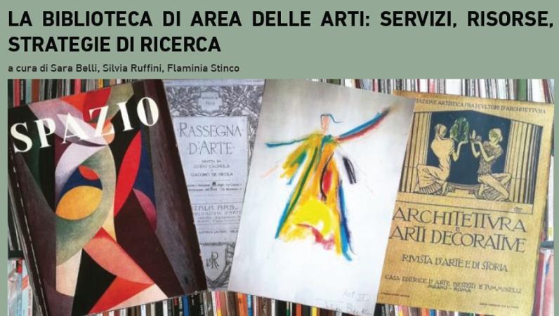 La Biblioteca di Area delle Arti: servizi, risorse, strategie di ricerca
