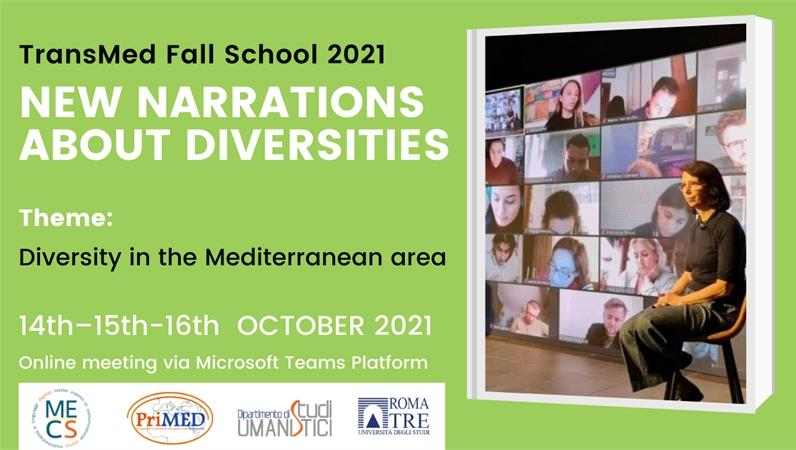 TransMed Fall School. New narrations about diversities. Call for application