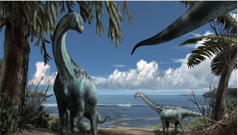 Le lagune dei dinosauri