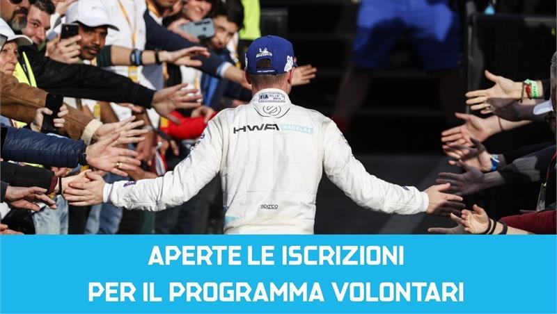 Call Volontari Formula E 2020