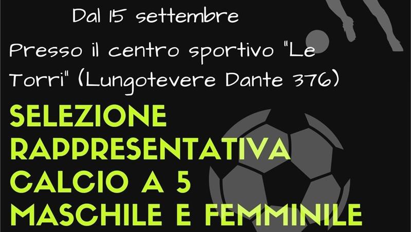 Roma Tre Sport - Ripresa delle attività di calcio a 5