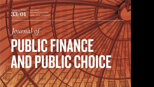 Trial rivista Journal of public finance and public choice