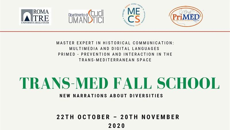 Trans-Med Fall School. New narrations about diversity