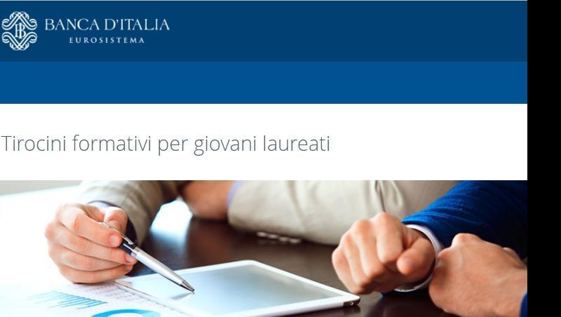 Bando Banca d'Italia: Tirocini extracurriculari presso il Servizio Banconote