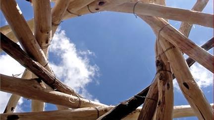 """Workshop di progettazione """"Un tetto reciproco"""""""