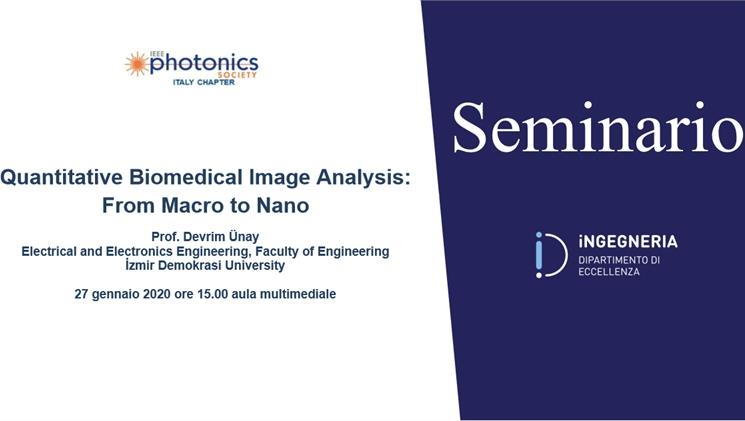 Seminario Quantitative Biomedical Image Analysis: From Macro to Nano