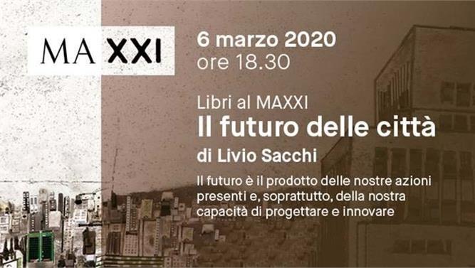 Libri al MAXXI. Il futuro delle città