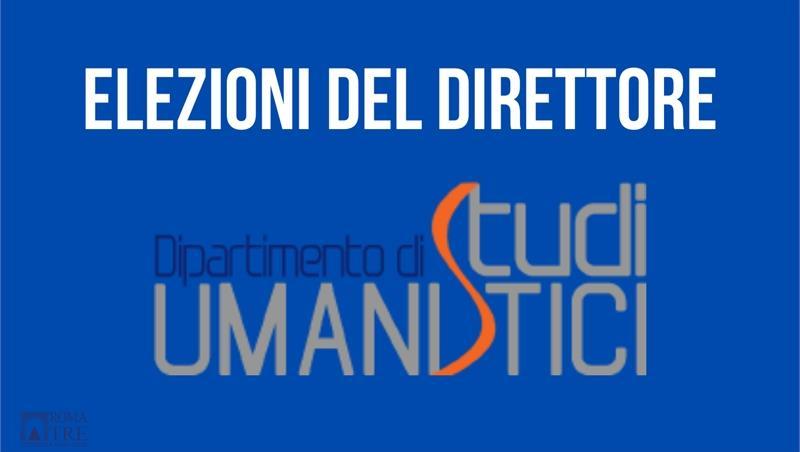 Elezioni del Direttore del Dipartimento di Studi Umanistici