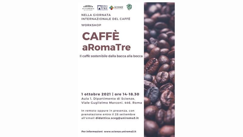 """Workshop: """"Caffè aRomaTre. Il caffè sostenibile dalla bacca alla bocca"""""""