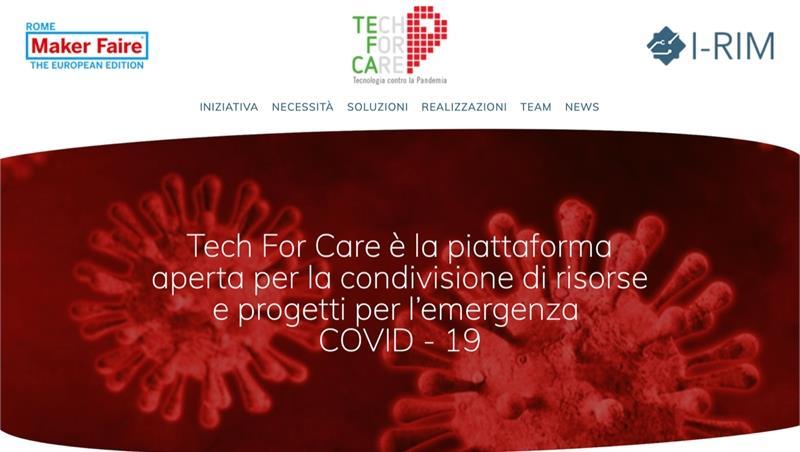 Roma Tre coinvolta nello sviluppo della piattaforma TechForCare contro il COVID-19