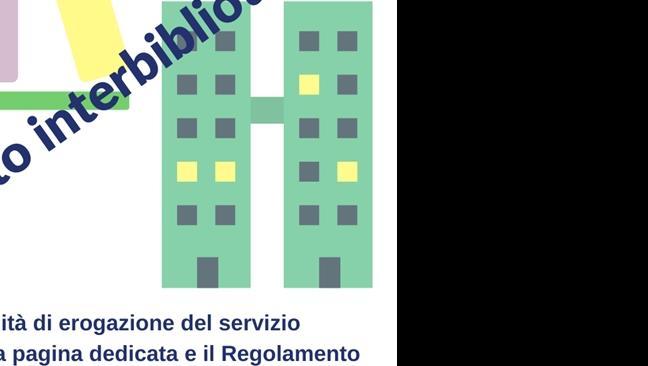 Ripristino del servizio di prestito interbibliotecario