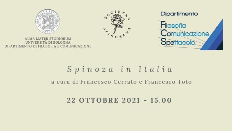 Spinoza in Italia