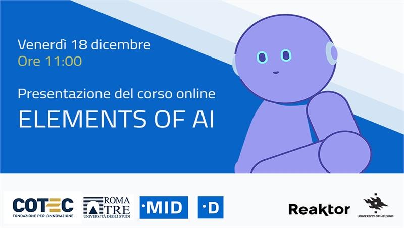 Elements of AI, l'intelligenza artificiale per tutti