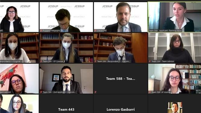 Roma Tre ai Global Rounds del Jessup
